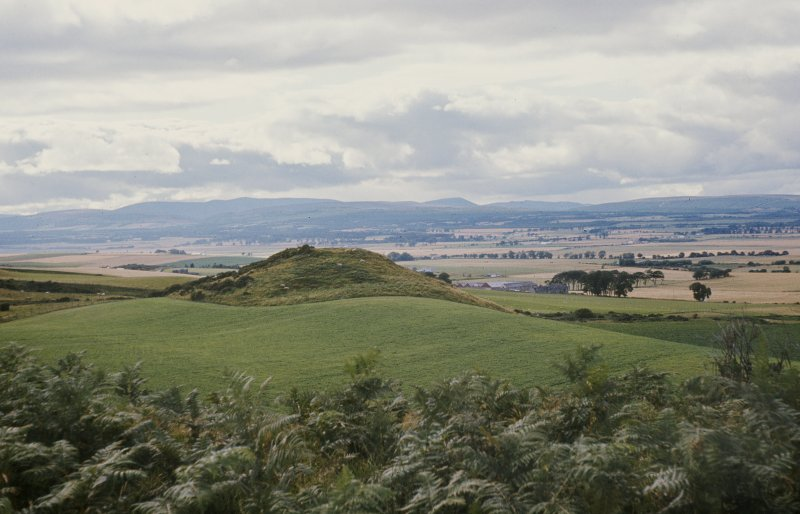 Copy of colour slide showing view of possible Dun, Culbokie near Tain NMRS Survey of Private Collection Digital Image only