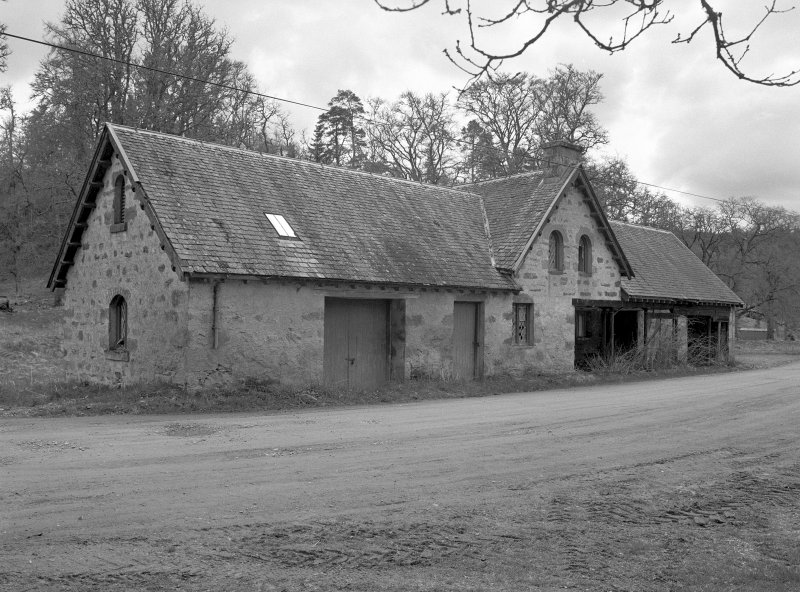 View of Farm Building (west south west of Farm) from north Digital image of B 7815