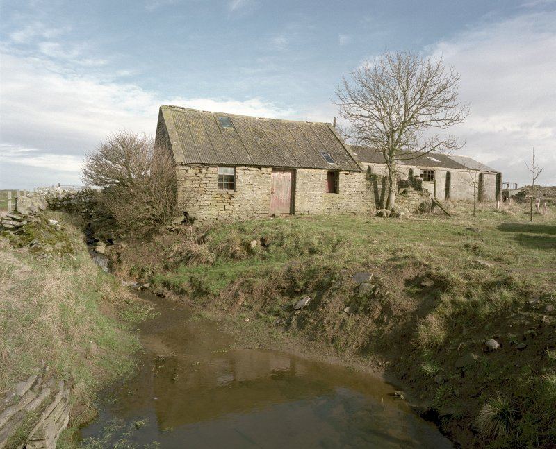 View of cottage and concrete shed from South West. Digital image of D 23926 CN