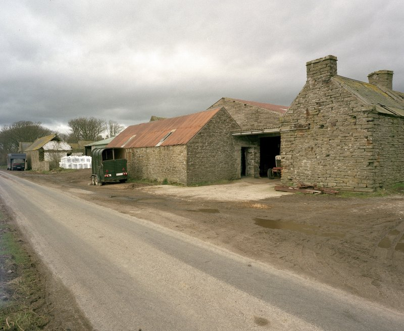 General view of farm from road to South East. Digital image of D 23950 CN