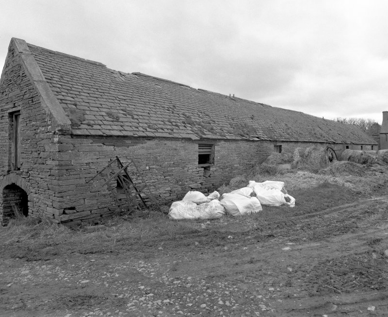 Stable (former steading), view from North East. Digital image of D 31004