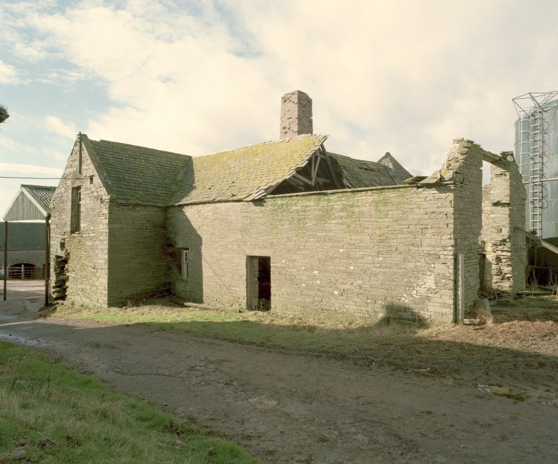 View of threshing barn from North East. Digital image of D 31012 CN
