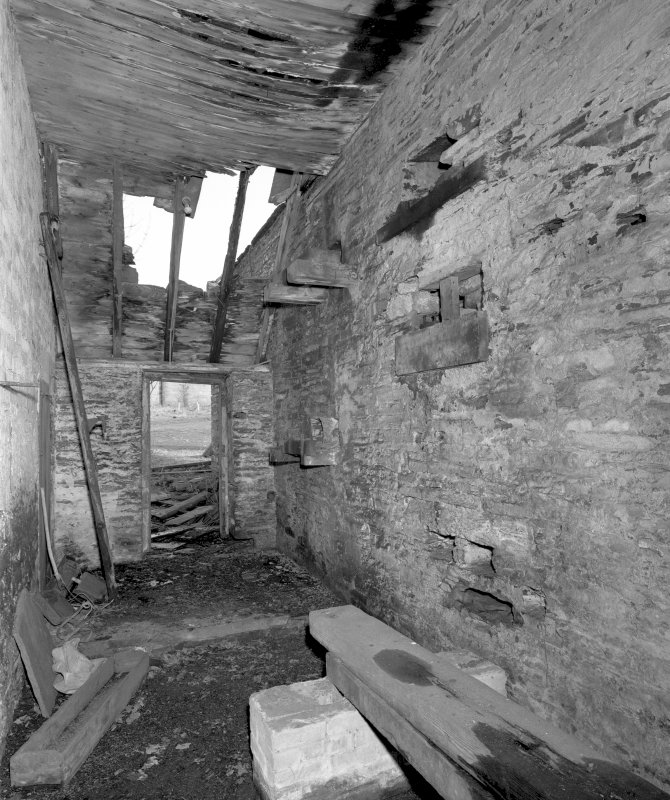 View of interior of engine-house from South. Digital image of D 31021