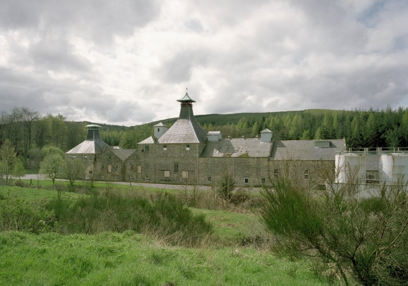 General view of distillery from NE. Digital image of C 67943 CN.