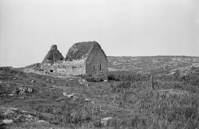 Eilean Mor, St Cormac's Chapel. View of chapel from the south-east.