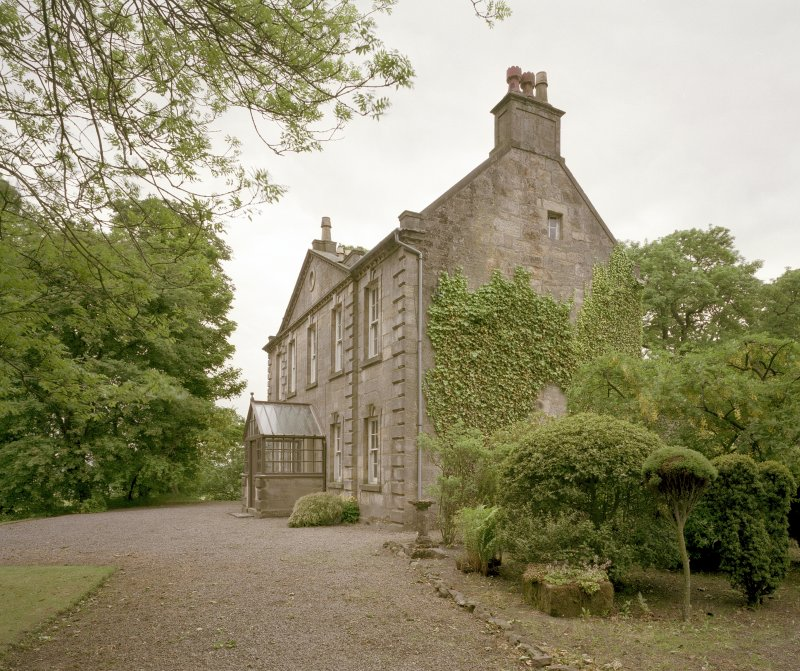 View of farmhouse from East. Digital image of C 44445 CN