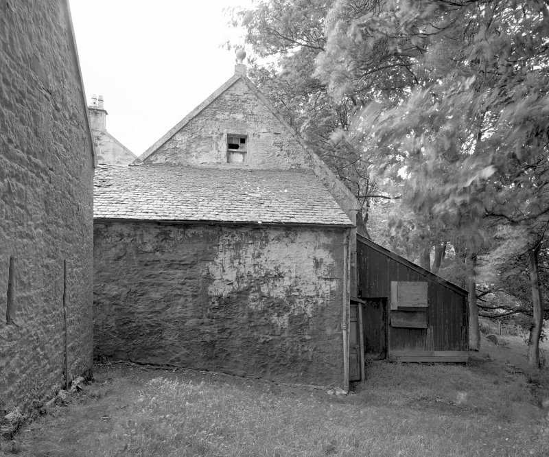 View of gig shed and tool shed from North-West. Digital image of C 44456