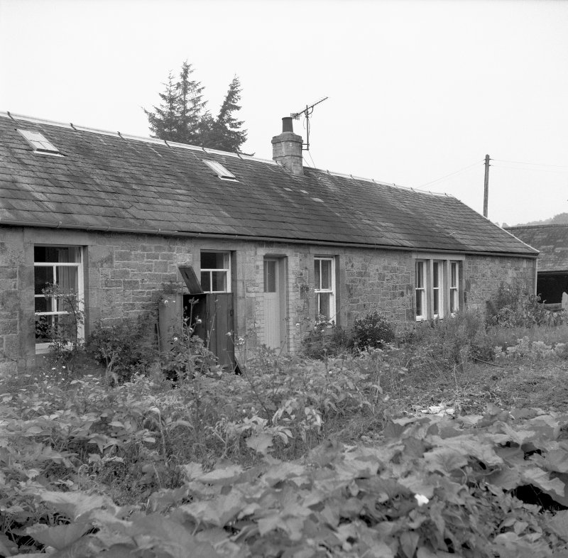 View looking NE showing housing on W side of works Digital image of B/9493/9