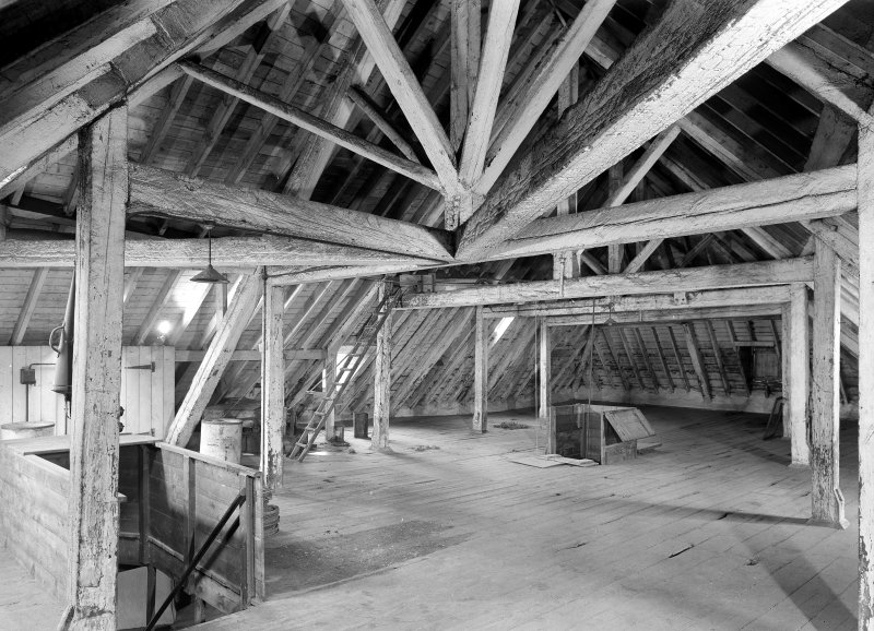 Perth, City Mills. Interior view of attic floor. Digital image of PT 1286.