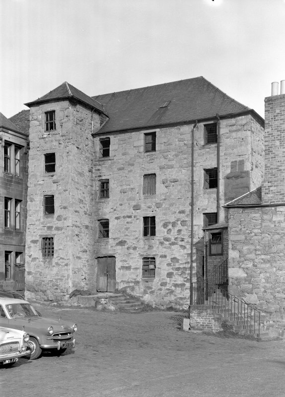 Perth, City Mills. General view of granary. Digital image of PT 1246.