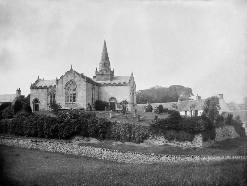 Upper Largo Parish Church.  General view from south east.