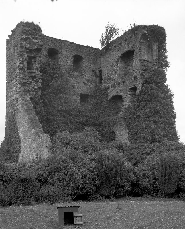 Drumin Castle. General view from SE.