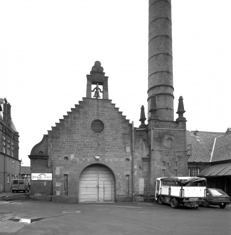 Glasgow, Gartloch Road, Gartloch Hospital. Detail of boiler house. Digital image of C/16773