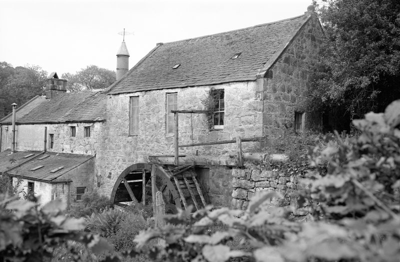 View of Mill from South West. Digital image of KB 466.