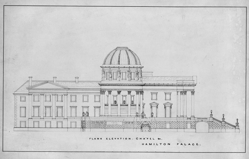 Photographic copy of design for mausoleum. Digital image of LAD/18/36 P.