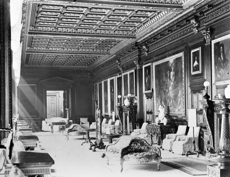 Interior. General view of gallery.