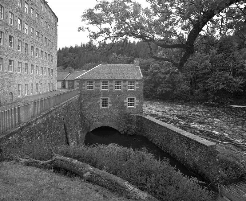 Wool Preparation Buildings (Water Houses) at New Lanark.