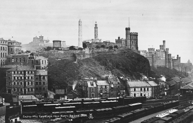 View of Calton Hill from the SW.