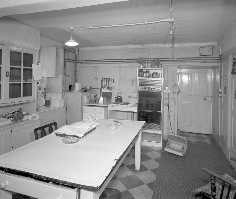 Basement, kitchen (original butler's pantry), view from West Digital image of D/12705