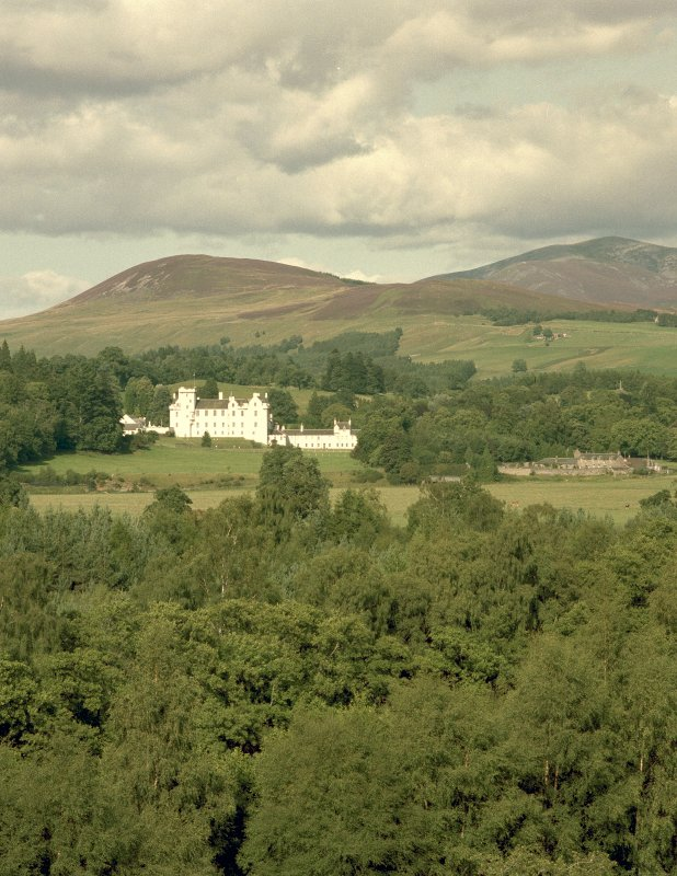Blair Castle. General view from North-West. Digital image of B 536 CN.
