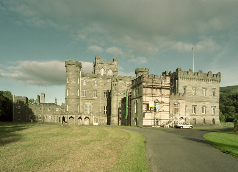 Taymouth Castle.  View from West North West. Digital image of D/21755/cn