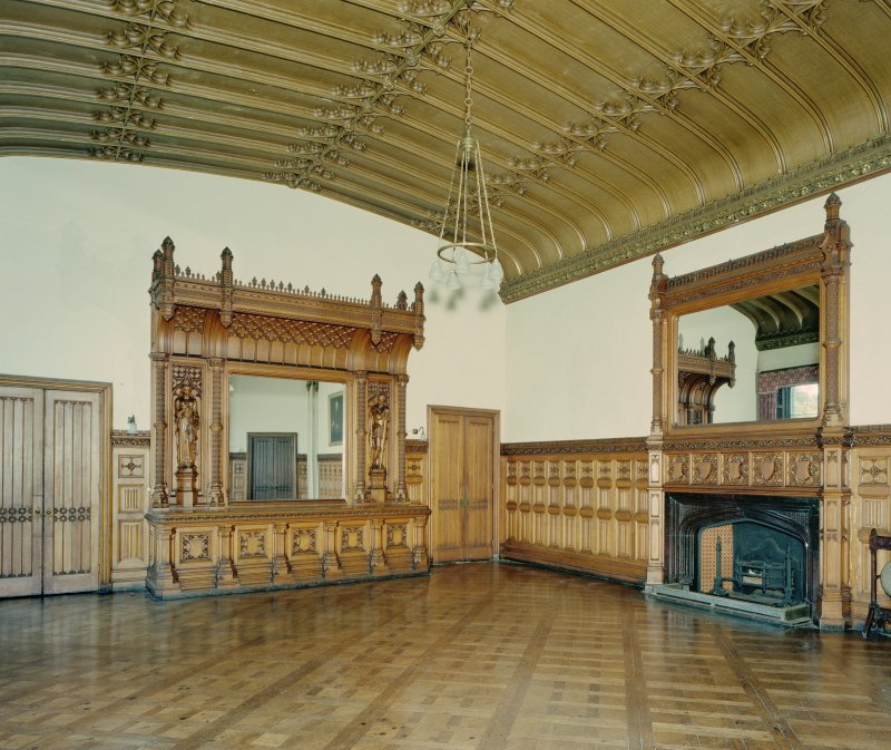 Taymouth Castle.  1st. floor, Breakfast room, view from North East. Digital image of D/21834/cn