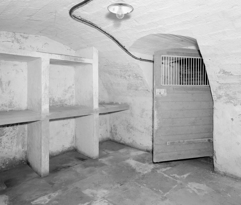 Interior, basement, South East tower basement, view from North East. Digital image of D 41701