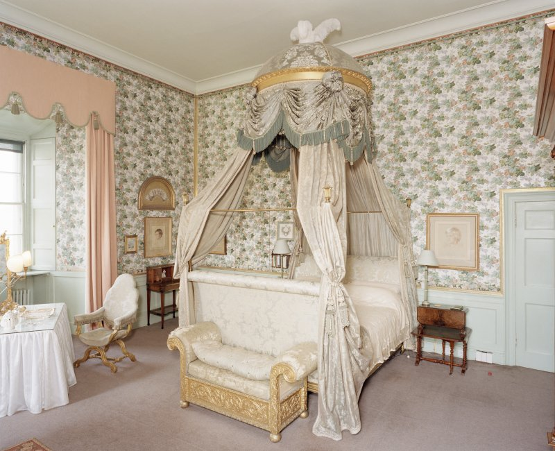 Interior, 2nd. floor, Duchess' bedroom, view from south east Digital image of D 47115 cn