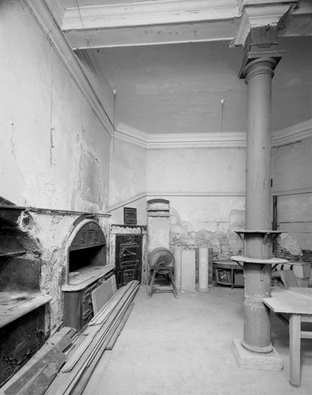 Interior. View of kitchen from east. Digital image of C 43633.