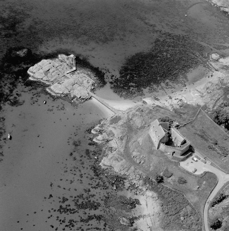 Duntrune Castle. Aerial view. Digital image of A/65676