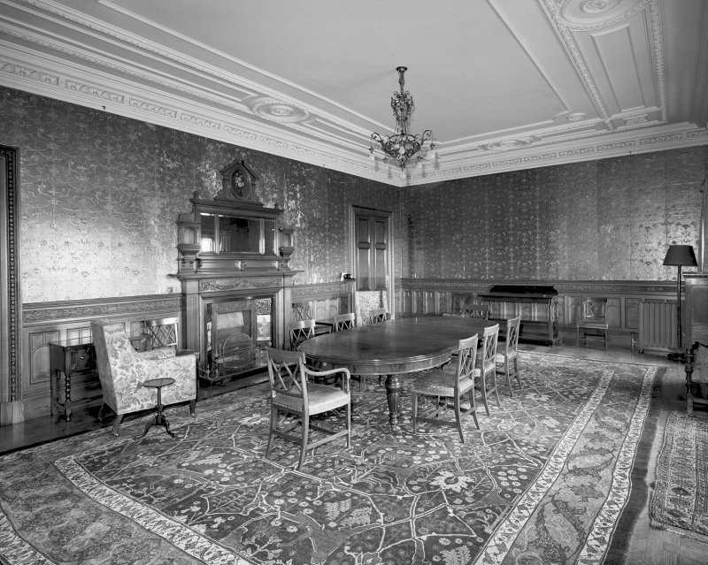 Interior General view of original Billiard Room on ground floor Digital image of SU/763