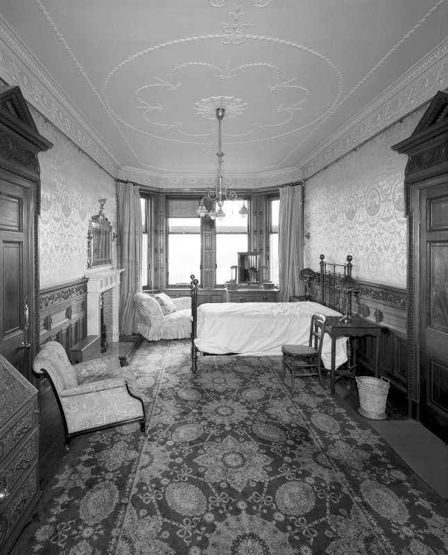 Interior View of Mrs Carnegie's private room from N Digital image of SU/771