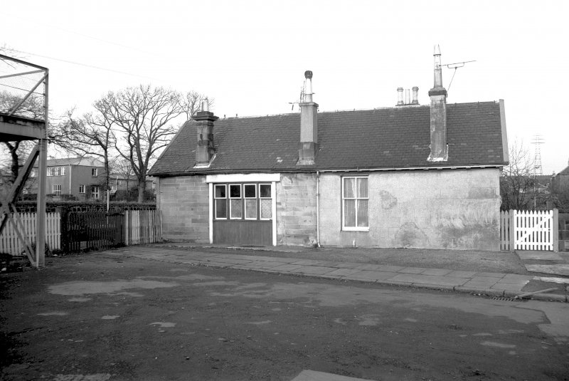View from SW showing SW front of station office