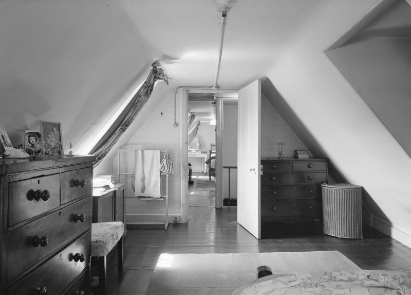 Interior view of attic room. Digital image of ED 1929.