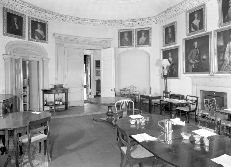 Interior view of the dining room. Digital image of ED 1942.