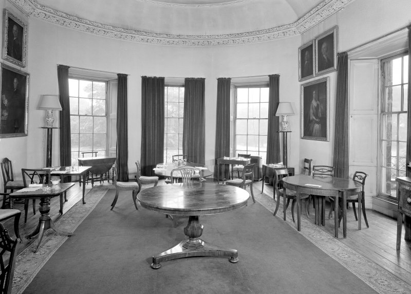 Interior view of the dining room. Digital image of ED 1943.