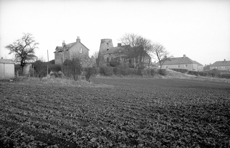 View from WSW showing SSW and WNW fronts of miller's house and mill block