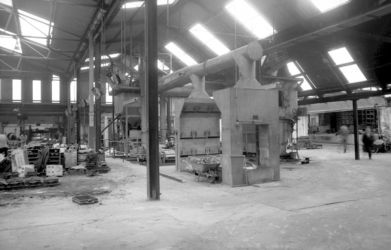 Interior View showing sand recovery plant