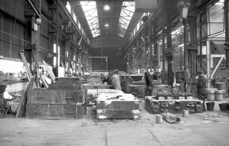 Interior View showing heavy-moulding shop