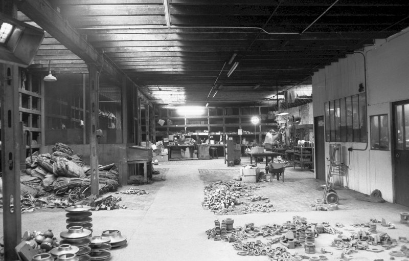 Interior View showing store and light-machine shop