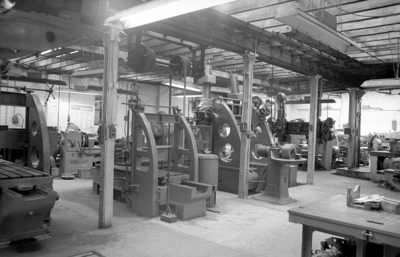 Interior View showing machine shop