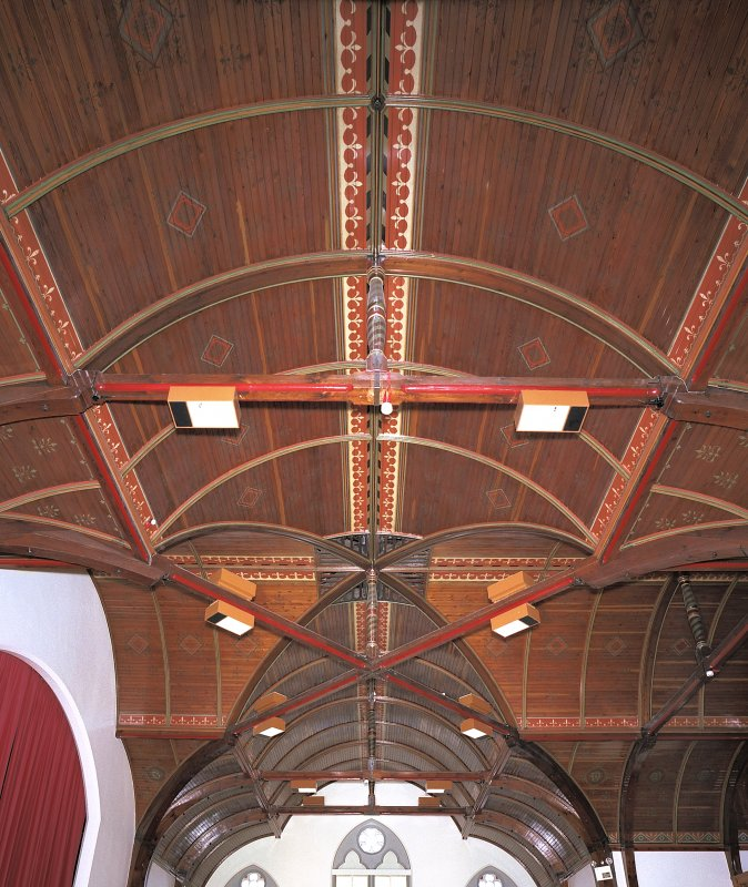 Detail of first-floor recreation hall roof Digital image of E 3897 cn