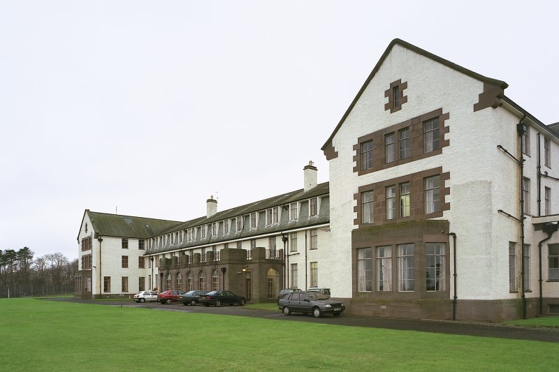 Nurses' Home -view from ESE Digital image of E 3969 cn