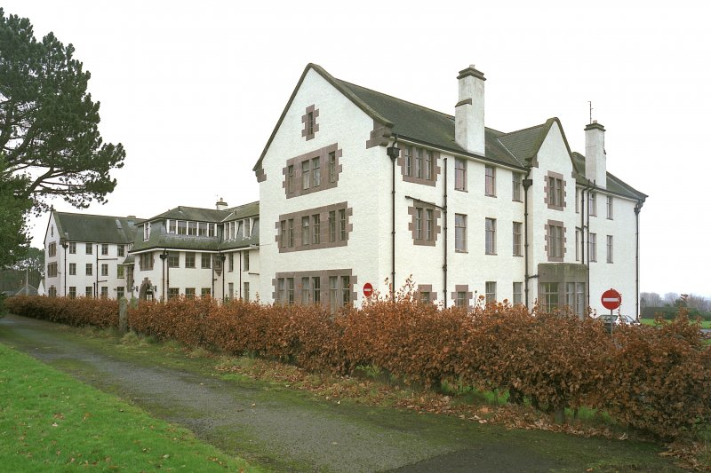 Nurses' Home -view from W Digital image of E 3971 cn