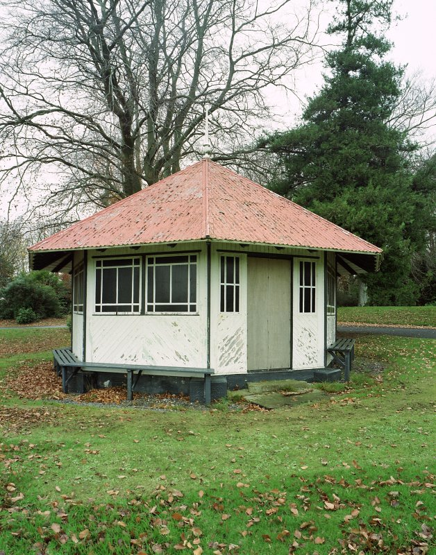 Detail of recreation ground pavilion Digital image of E 3977 cn