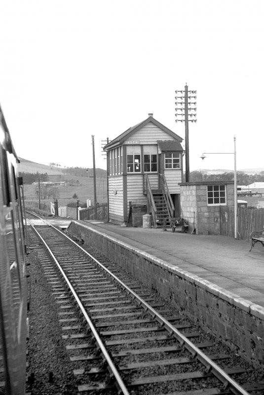 View from ESE showing ESE and SSW fronts of signal box