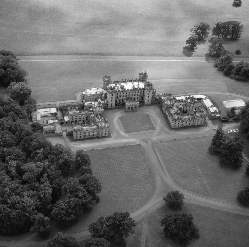 Aerial view of Floors Castle