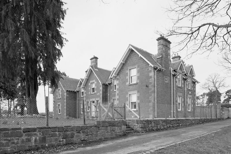 View of staff house from NE Digital image of E 8583