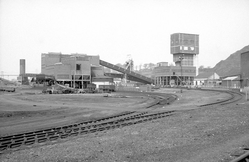 General view from ESE showing colliery complex