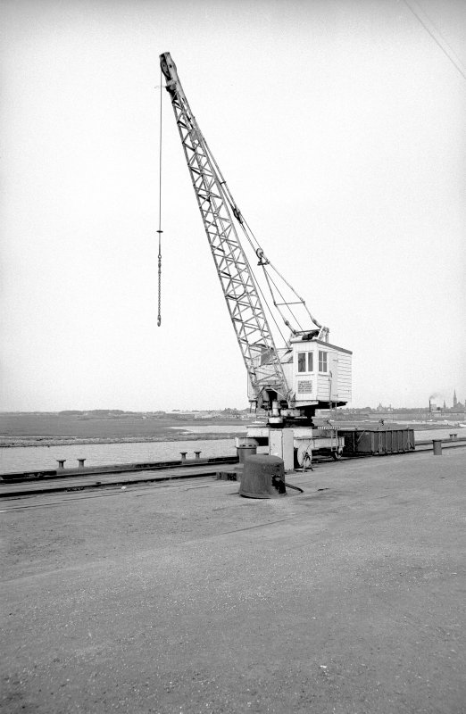 View from SW showing Chaplin electric crane